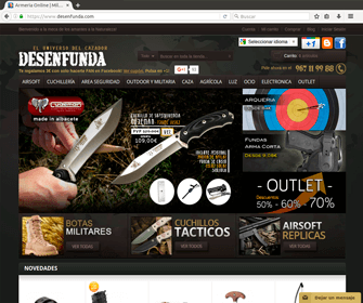 Tienda Online Desenfunda