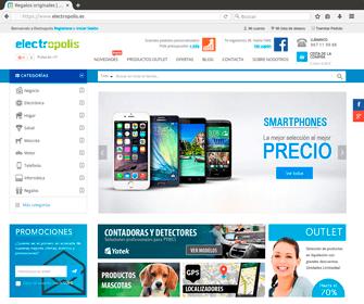 Tienda Online Electrópolis
